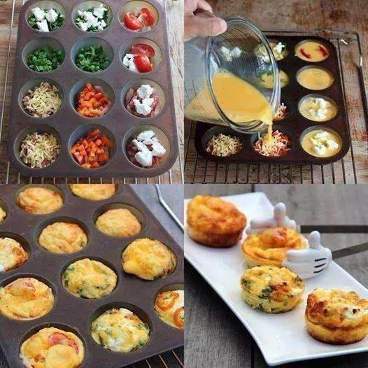 Tortini alle verdure (LIGHT)