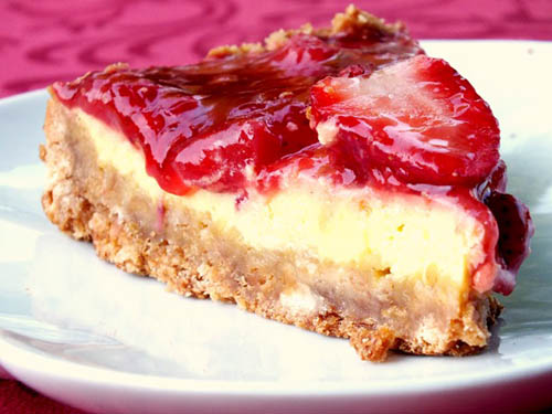 Cheesecake Fragole e Ricotta