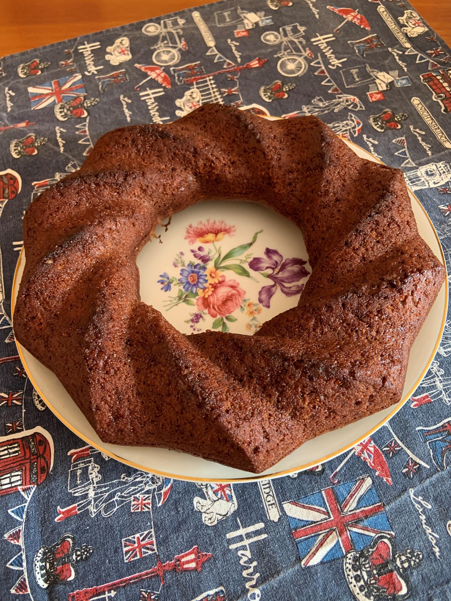 Torta al cioccolato light con farina integrale